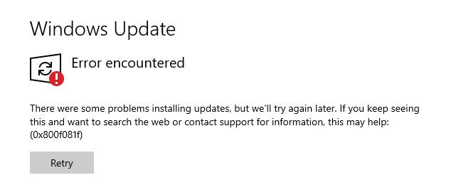 0x800f081f-error