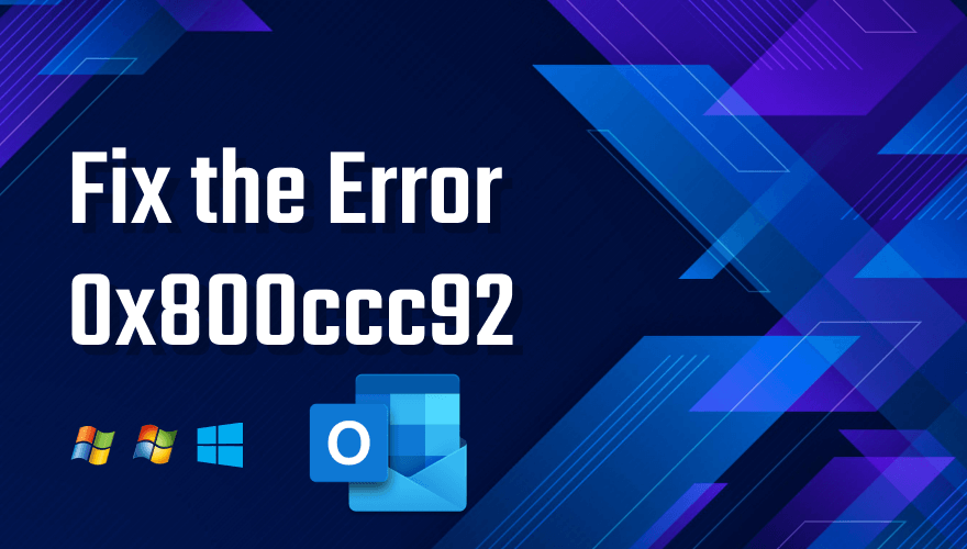 Windows Error 0x800ccc9