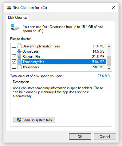 Clean Your Hard Drive Using Disk Cleanup (cleanmgr)