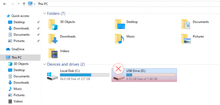 External Hard Drive Not Showing Up in File Explorer
